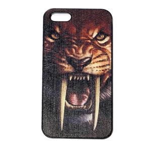 Чехол iphone 5 тигр саблезубый